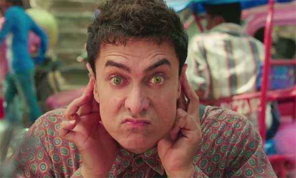 PK (PeeKay) Aamir Khan Eyes Action Stills