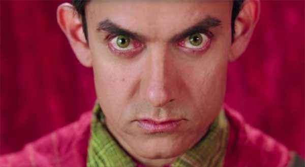 PK (PeeKay) Aamir Khan Eyes Stills