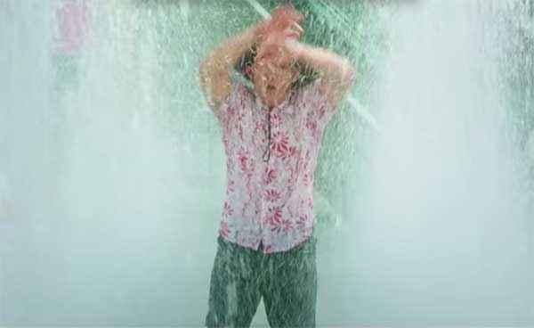 PK (PeeKay) Aamir Khan In Rain Stills