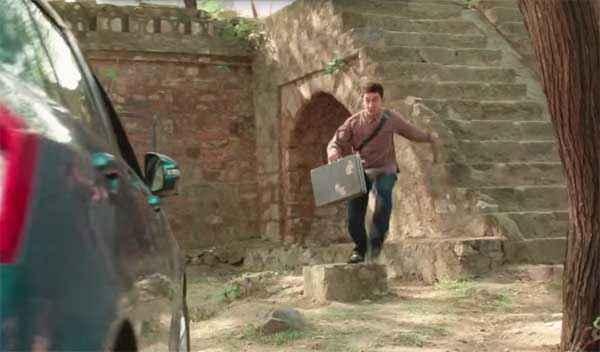 PK (PeeKay) Aamir Khan Running Stills
