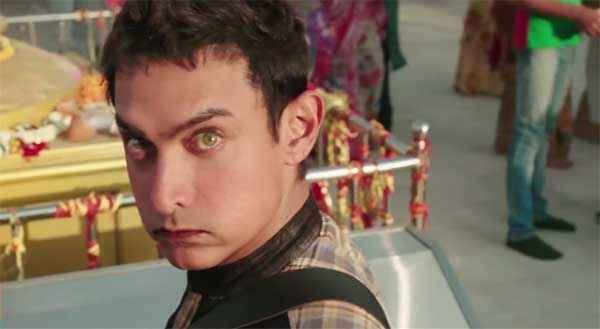 PK (PeeKay) Aamir Khan Sexy Eyes Stills