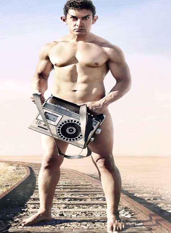 PK (PeeKay) Aamir Khan Wallpaper Stills