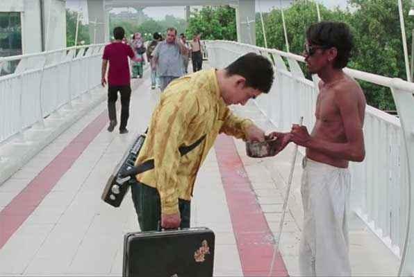 PK (PeeKay) Aamir Khan With Bhikhari Stills