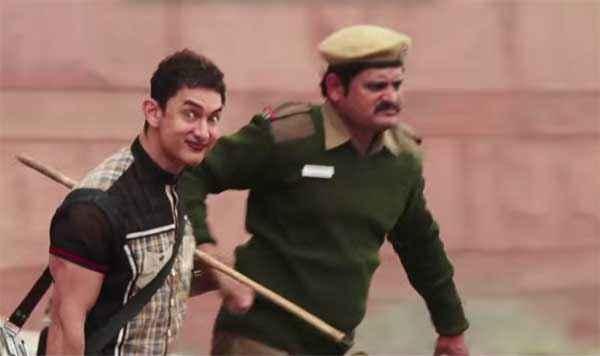 PK (PeeKay) Aamir Khan With Police Stills