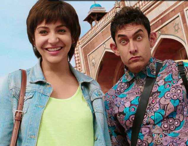 PK (PeeKay) Anushka Sharma Aamir Khan Pics Stills