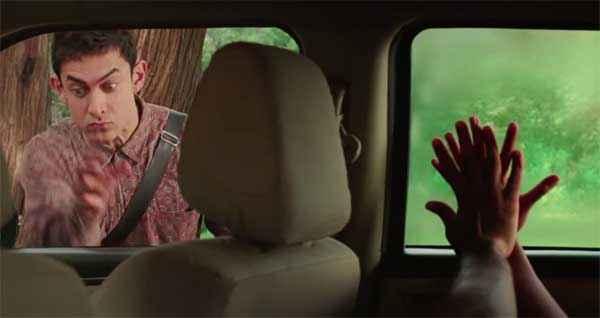 PK (PeeKay) Hot Scene In Car Stills
