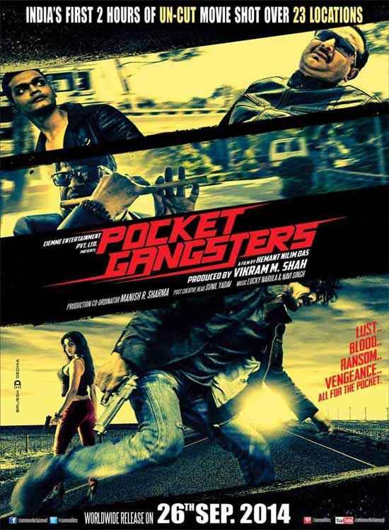 Pocket Gangsters Promo Poster