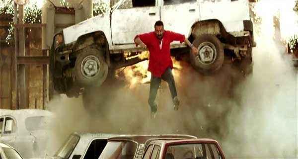Policegiri Sanjay Dutt in Action Scene Stills