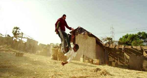 Policegiri Sanjay Dutt in Fighting Stills