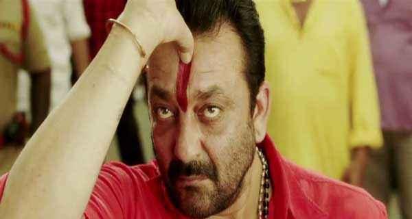 Policegiri Sanjay Dutt in Red Shirt Stills