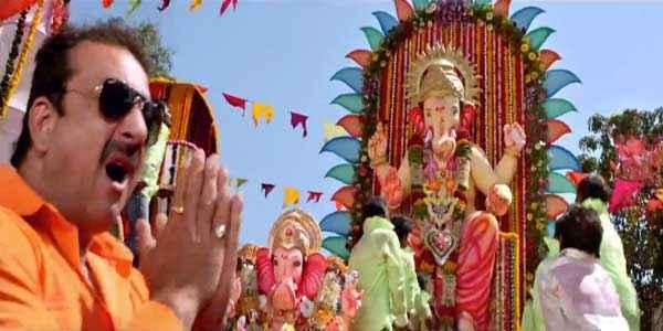 Policegiri Sanjay Dutt with Ganesha Stills