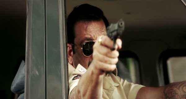 Policegiri Sanjay Dutt with Gun Stills