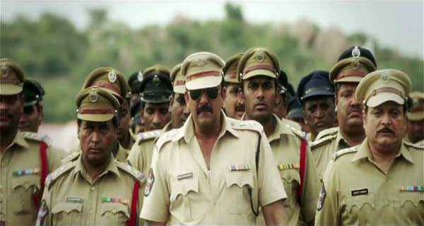 Policegiri Sanjay Dutt with Others Stills