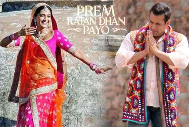 Prem Ratan Dhan Payo Salman Khan Sonam Kapoor Romance Stills