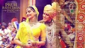 Prem Ratan Dhan Payo Sonam Kapoor Salman Khan Acting Stills