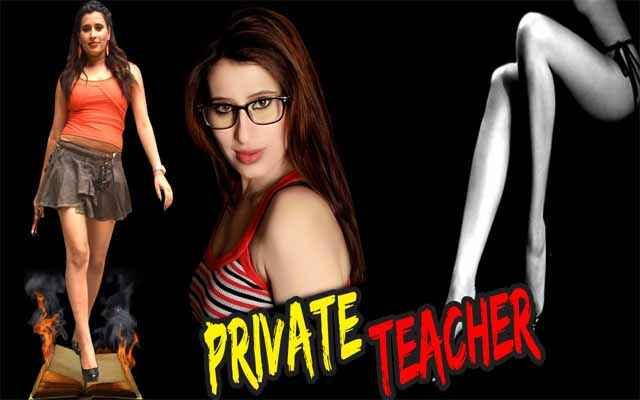 Private Teacher Hot Gayatri Singh Poster