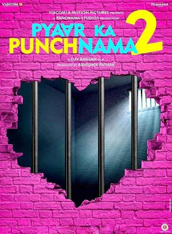 Pyaar Ka Punchnama 2 Wallpaper Poster