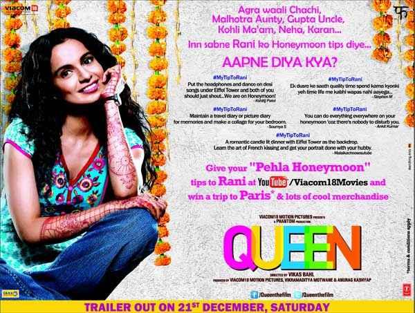 Queen Kangana Ranaut Mehndi Poster