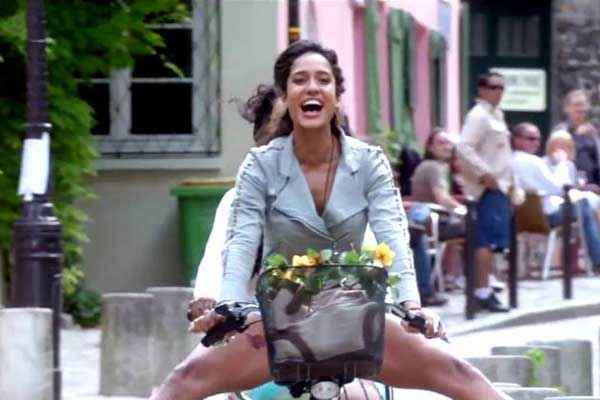 Queen Kangana Ranaut On Cycle Stills