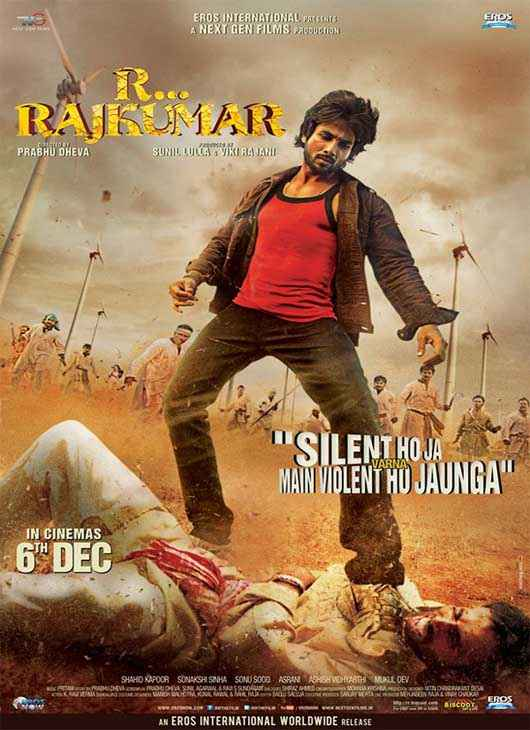 R Rajkumar First Look Poster