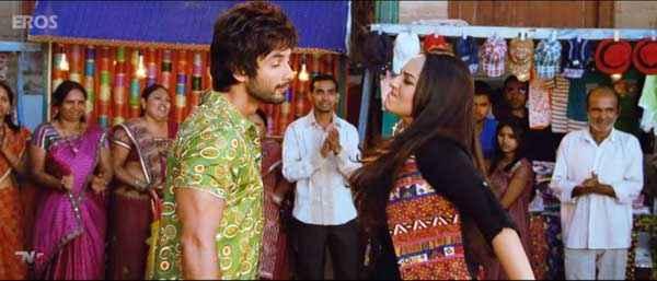 R Rajkumar Shahid Kapoor Sonakshi Sinha Slapping Pics Stills