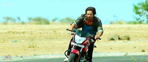 R Rajkumar Shahid Kapoor with Bike Stills