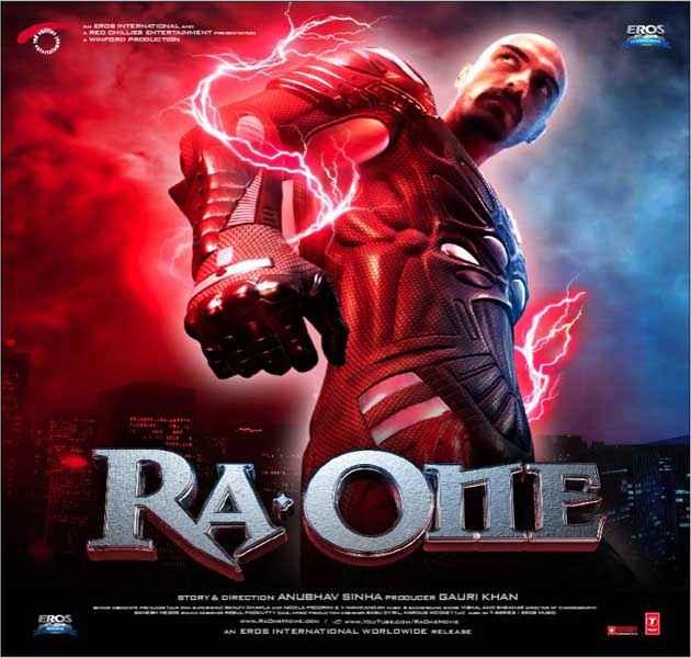 Ra One Arjun Rampal Poster