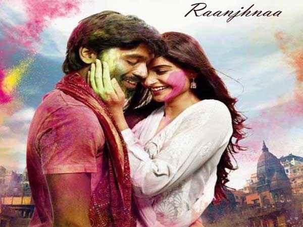 Raanjhnaa Dhanush, Sonam Kapoor Poster