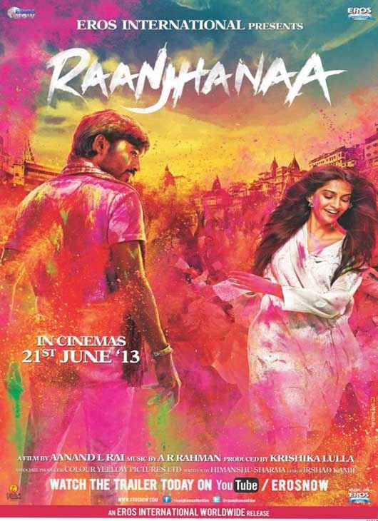 Raanjhnaa First Look Poster