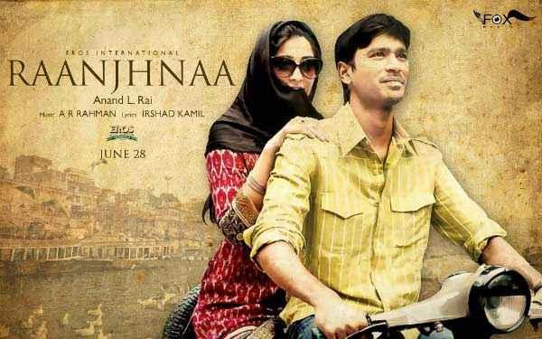 Raanjhnaa Wallpaper Poster