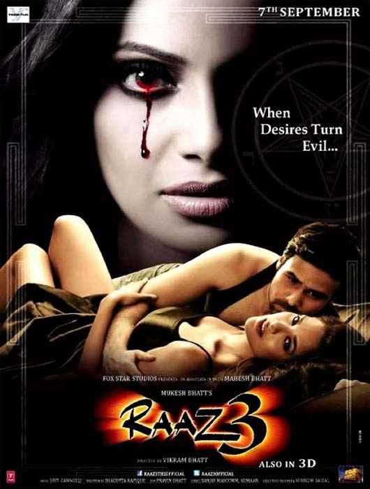 Raaz 3 Hot Poster