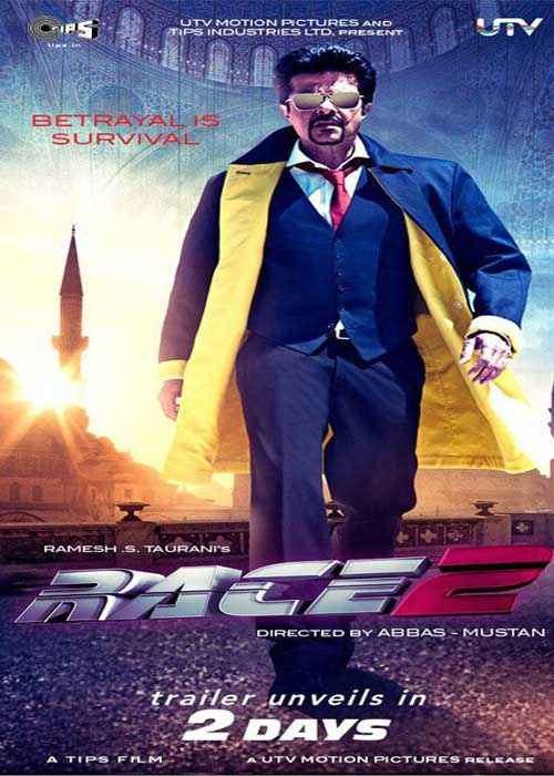 Race 2 Anil Kapoor Poster