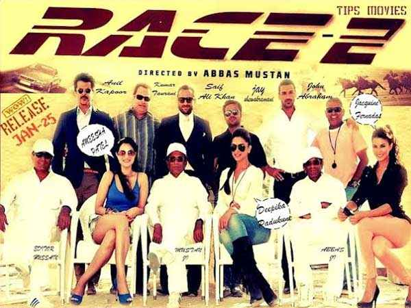 Race 2 Images Poster