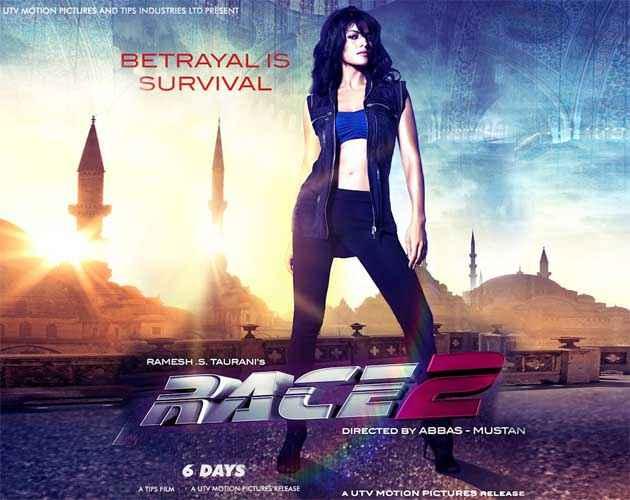 Race 2 Jacqueline Fernandez Poster