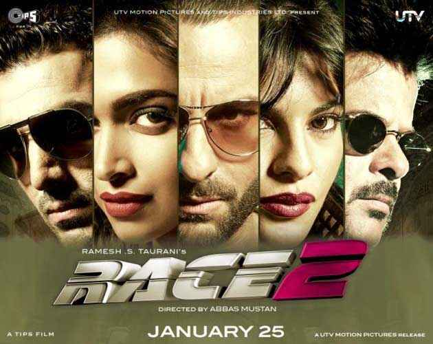 Race 2 New Poster Poster