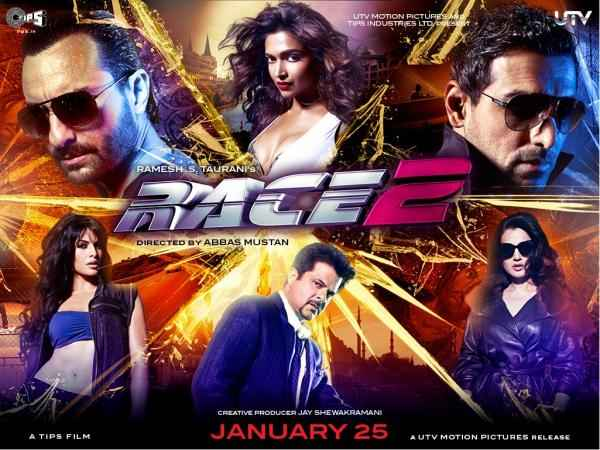 Race 2 Wallpapers Poster