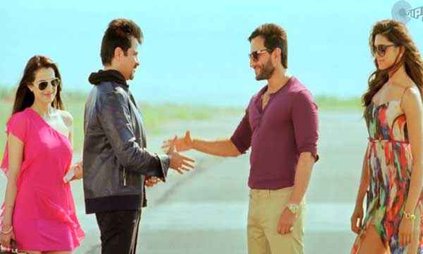 Race 2 Ameesha,Anil Kapoor,Saif Ali Khan,Deepika Stills
