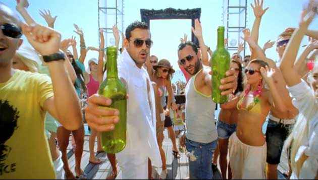 Race 2 John Abraham Saif Ali Khan Party On My Mind Song Stills
