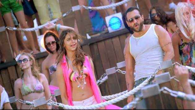 Race 2 Saif Ali Khan Deepika Padukone Party On My Mind Song Stills