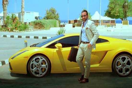 Race 2 Saif Ali Khan with Yellow Car Stills