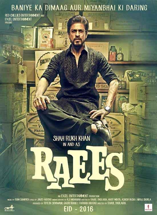 Raees Shahrukh Khan Image Poster