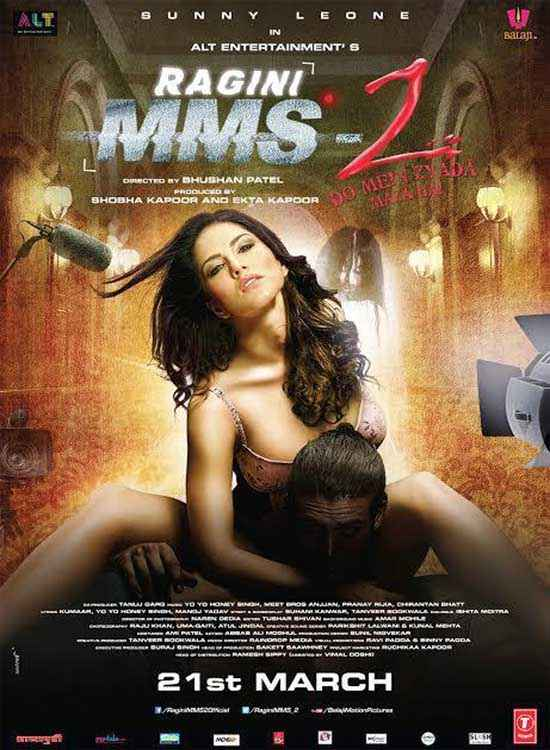 Ragini MMS 2 Sunny Leone Hot Poster
