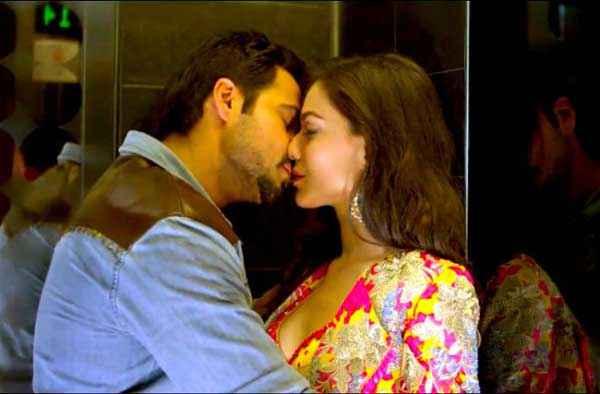 Raja Natwarlal Emraan Hashmi Humaima Malick Romantic Kiss Scene Stills