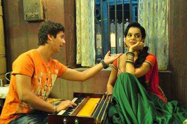 Rajjo Paras Arora Kangna Ranaut Learning Music Stills