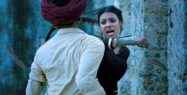 Ram Leela Deepika Padukone Action Stills