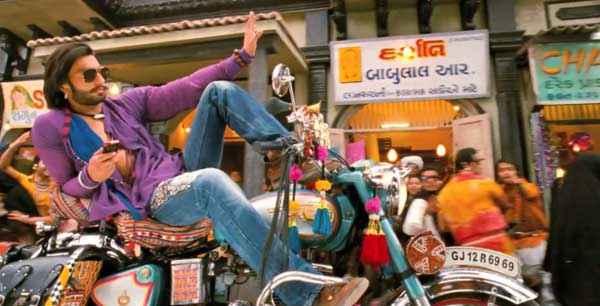 Ram Leela Ranveer Singh On Bike Stills