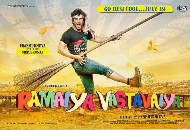 Ramaiya VastaVaiya Girish Taurani Poster