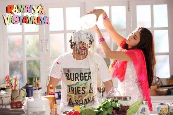 Ramaiya VastaVaiya Girish Taurani Shruti Haasan Comedy Scene Stills