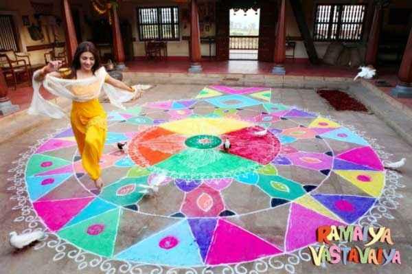 Ramaiya VastaVaiya Shruti Haasan Rangoli Scene Stills