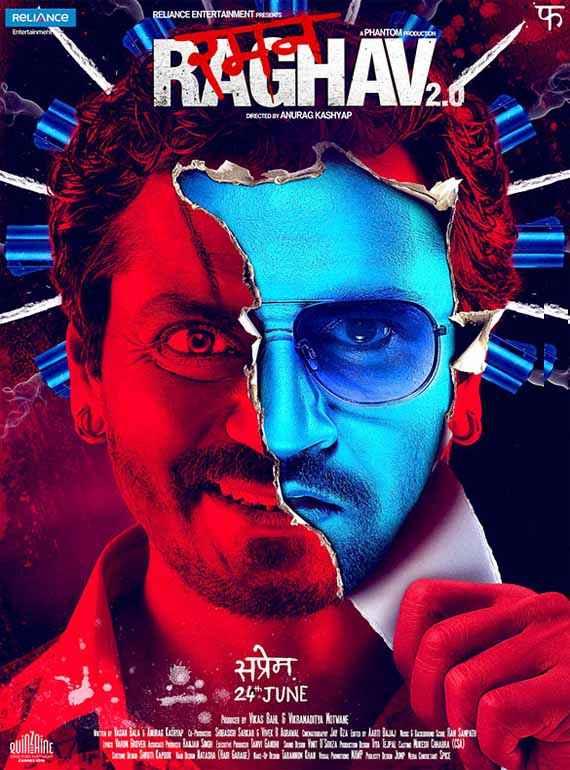 Raman Raghav 2.0 Nawazuddin Siddiqui Wallpaper Poster
